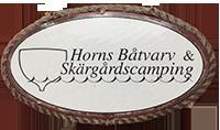 Horns Skärgårdscamping - campingplats, säsongsplats, stuguthyrning
