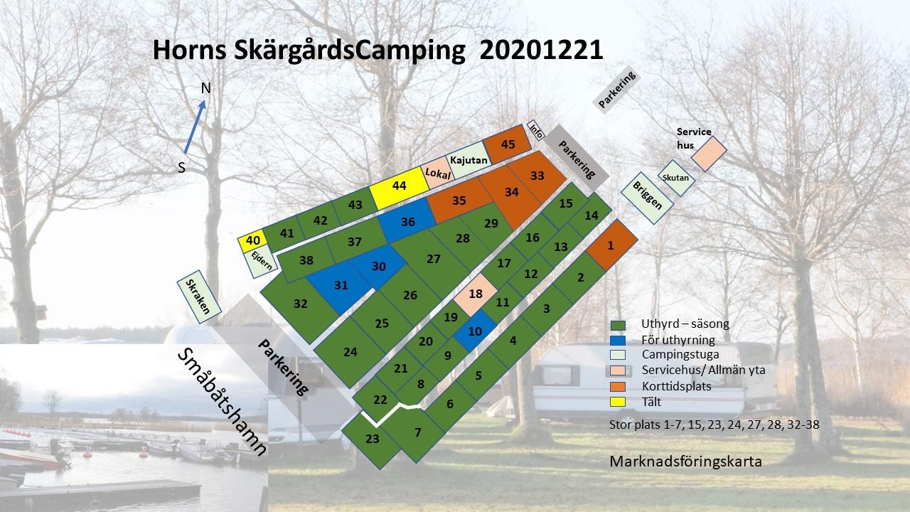 20201221 Horns Camping Marknadsföringskarta