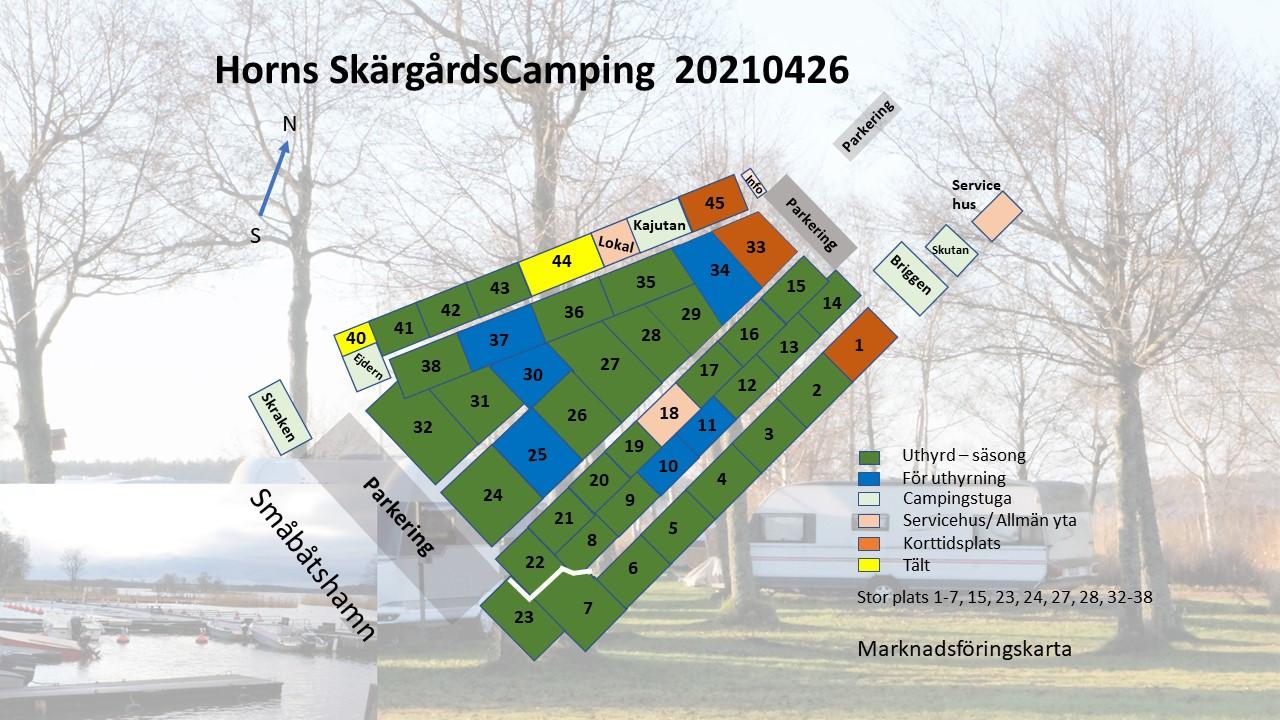 20210426 Horns Skärgårdscamping platskarta